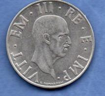 Italie  -  2 Lire 1939 R-  TTB+  -  Km # 78 A  -  Non Magnétique - 1900-1946 : Victor Emmanuel III & Umberto II