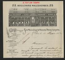 """1912 / PARIS / ROQUENCOURT & DESPRIN - SEULE MAISON FAISANT LES VETEMENTS A """"DEVANTS INCASSABLES"""" - France"""