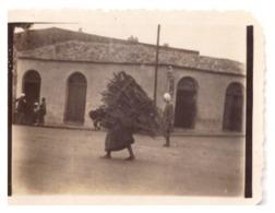 """ALGERIE """" LA CALLE  FEMME INDIGENE PORTANT DU BOIS  OCTOBRE 1933"""" - Afrique"""