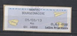 2013  Lettre Prioritaire Nantes Bourgeonnière - 2000 «Avions En Papier»
