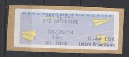 2014  Lettre Prioritaire  Bar Le Duc Ste Catherine - 2000 «Avions En Papier»