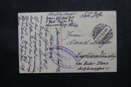 ALLEMAGNE - Carte Postale De Marienburg En Feldpost Pour Lingolsheim En 1916 - L 47479 - Cartas