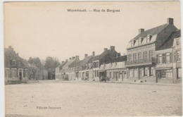 CARTE POSTALE    WORMHOUDT 59   Rue De Bergues - Wormhout