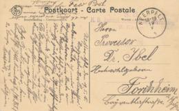 519/30 -- LIMBOURG - Carte-Vue Abbaye De ACHEL En Feldpost - NEERPELT 1915 - Griffe Landsturm NURNBERG - WW I