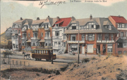 LA PANNE - Avenue Vers La Mer - MET PAARDENTRAM - De Panne
