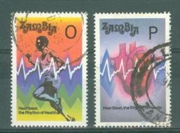 Zambia: 1993   Heartbeat Campaign    Used - Zambia (1965-...)