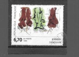 2969  OBL  Y & T  Œuvre Originale De Kirkeby «Art Contemporain»  15A/28 - Used Stamps