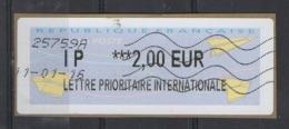 2016  Lettre Prioritaire Internationale - 2000 «Avions En Papier»
