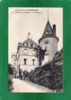 63. MONTEL-de-GELAT. Le Chateau. Beau Plan Animé. écrite & Voyagée 1918  N° 1352 - Autres Communes