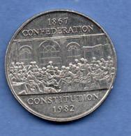 Canada   -  1 Dollar 1982   -  Km # 134  -  état  TTB+ - Canada