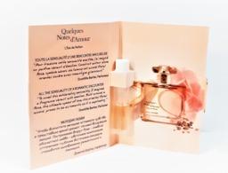 échantillons De Parfum   Tubes  QUELQUES NOTES D'AMOUR   De YVES ROCHER  EDP  1.2 Ml + Boite - Campioncini Di Profumo (testers)