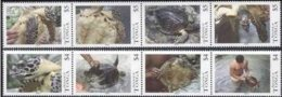 Tonga 2013 Yvertn° 1341-1348 *** MNH Cote 72,00 Euro Faune Turtles Tortues Schildpadden - Tonga (1970-...)