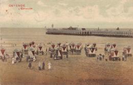 Ostende - L' Estacade 1912 - Oostende