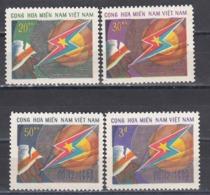 Vietnam 1970 - Edition Of The Vietcong-10th Anniversary Of The Nat. Liberation Front , Mi-Nr. 31-34, MNH** - Vietnam