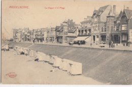 MIDDELKERKE / ZEEDIJK EN STRAND / UITGIFTE MARCOVICI 1911 - Middelkerke