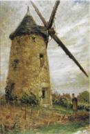 CPM - EUGENE PREVOST MESSEMIN (1880-1944) - LE MOULIN BOUCHER EN 1825 A LA CHAPELLE SAINT MESMIN - HUILE SUR CARTON - Schilderijen