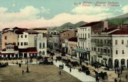 Greece, PATRAS PATRA Πάτρα, Place Du Diadoque (1910s) Postcard - Griekenland