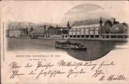 ! Cpa. Alte Ansichtskarte Weltausstellung 1900 Exposition Universelle Paris Le Serres Verlag Knackstedt & Näther Hamburg - Expositions