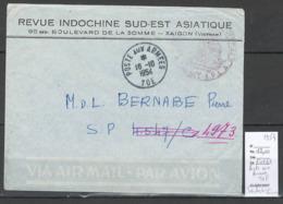 Guerre D' Indochine - Viet Nam - Saigon - Cachet Poste Aux Armées - TOE 1954 - Poststempel (Briefe)