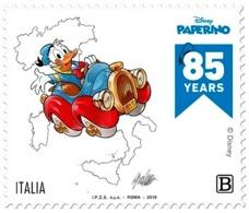 Italia Repubblica 2019 Paperino Singolo Euro 1,10 MNH** Integro - Disney