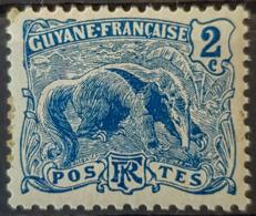 GUYANE FRANCAISE 1904 - MLH - YT 50 - 2c - French Guiana (1886-1949)