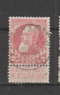 COB 74 Oblitération Centrale CRUYSHAUTEM - 1905 Grosse Barbe