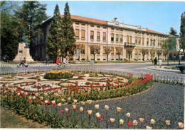 SALSOMAGGIORE TERME  PARMA  Piazzale Berzieri  Scuole  Monumento  Vespa - Parma