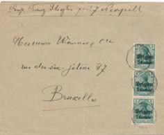 537/30 -- Province Du LIMBOURG - Enveloppe TP Germania NEERPELT - PAS De Censure ( Anomalie) - Expéd. Slegten - WW I