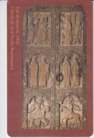Romania Roumanie Rumanien - National Art Museum Wooden Sculpture  Phonecard - See Photos (front/back) 02/08 2 - Romania