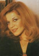 Autographe De Nicoletta Sur Carte Postale Chanteuse - Autographes