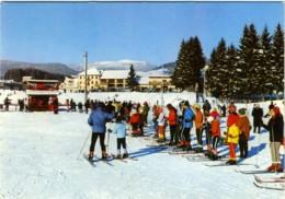 ASIAGO  VICENZA   Campo Da Sci Ski Bellocchio  In Coda Allo Skilift  Impianto Di Risalita - Vicenza