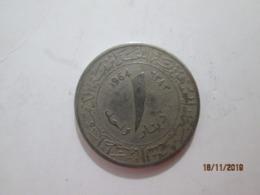 ALGERIA 1 Dinar  1964   # 1 - Algeria