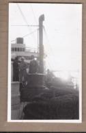 CPSM PHOTO PAQUEBOT - Bâteau - TB PLAN à Bord Du SS CUBA Croisière 1932 - ANIMATION - Paquebots