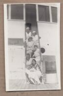 CPSM PHOTO PAQUEBOT - Bâteau TB PLAN à Bord Du SS CUBA Croisière 1932 - ANIMATION Groupe Jeunes Femmes Escalier - Paquebots