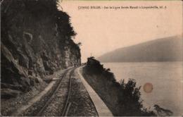 ! Cpa, Alte Ansichtskarte Congo Belge, Belgisch Kongo, Ligne Ferree Matadi - Leopoldville, Eisenbahnstrecke, Railway - Treinen