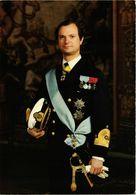 CPM AK HM King Carl XVI Gustaf Of Sweden SWEDISH ROYALTY (845347) - Königshäuser