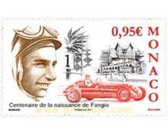 Ref. 617816 * MNH * - MONACO. 2011. MOTORING . AUTOMOVILISMO - Monaco