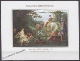 Czech Republic - Tcheque 2009 Yvert BF 37 - Work Of Arts On Stamps - Oldrich Et Bozena By Frantisek Zenisek - MNH - Tchéquie