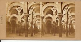 Sevaistre, Eugène,Gaudin Br., Córdoba, Mezquita, Mosque - Fotos Estereoscópicas