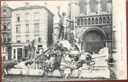 (1853) Anvers- Antwerpen - Monument Baron Dhanis - S.M. - 1914 - Antwerpen