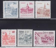 Yugoslavia 1984 Definitive Stamps, MNH (**) - 1945-1992 République Fédérative Populaire De Yougoslavie