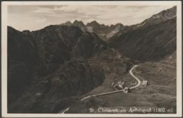 St Christoph Am Arlbergpaß, Tirol, C.1930 - Josef Neumair Foto-AK - St. Anton Am Arlberg