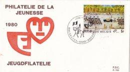 België - FDC 700 - 25 Oktober 1980 - Jeugdfilatelie- OBP 1994 - FDC