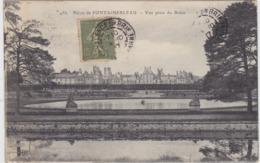 Palais De Fontainebleau Vue Prise Du Breau - Fontainebleau