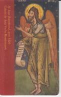 Romania - Art Manuscript Painting Fresco 02.08  Phonecard - See Photos (front/back) - Romania