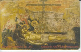 Romania - Art Manuscript Byzantine Icon 03.08  Phonecard - See Photos (front/back) 2 - Romania