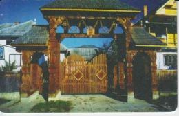 Romania - Wooden Sculptures Maramures 08.02 Phonecard - See Photos (front/back) 2 - Romania