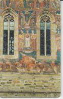 Romania - Bucovina Voronet Painted Monastery Byzantine Icon  Phonecard - See Photos (front/back) 4 - Romania