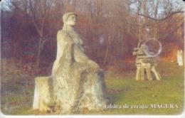 Romania - Buzau Magura Sculpture Camp  Phonecard - See Photos (front/back) 3 - Romania