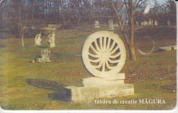 Romania - Buzau Magura Sculpture Camp  Phonecard - See Photos (front/back) - Romania